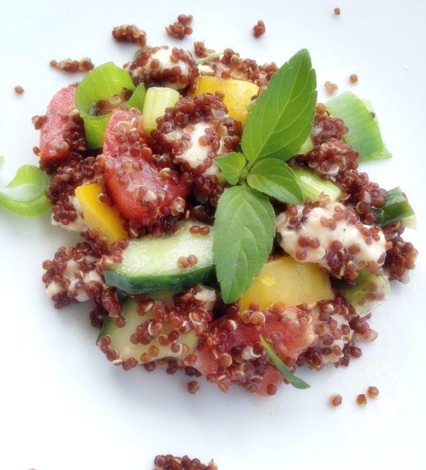 Quinoa-Sommersalat