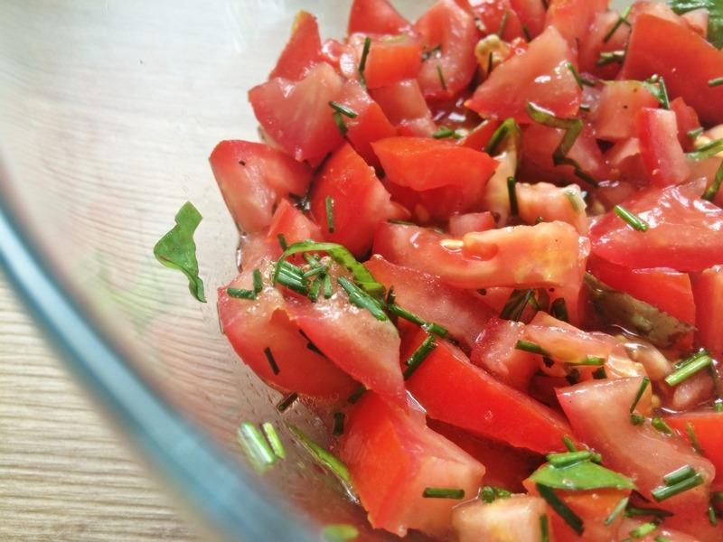 Tomatensalat – einfach zubereitet