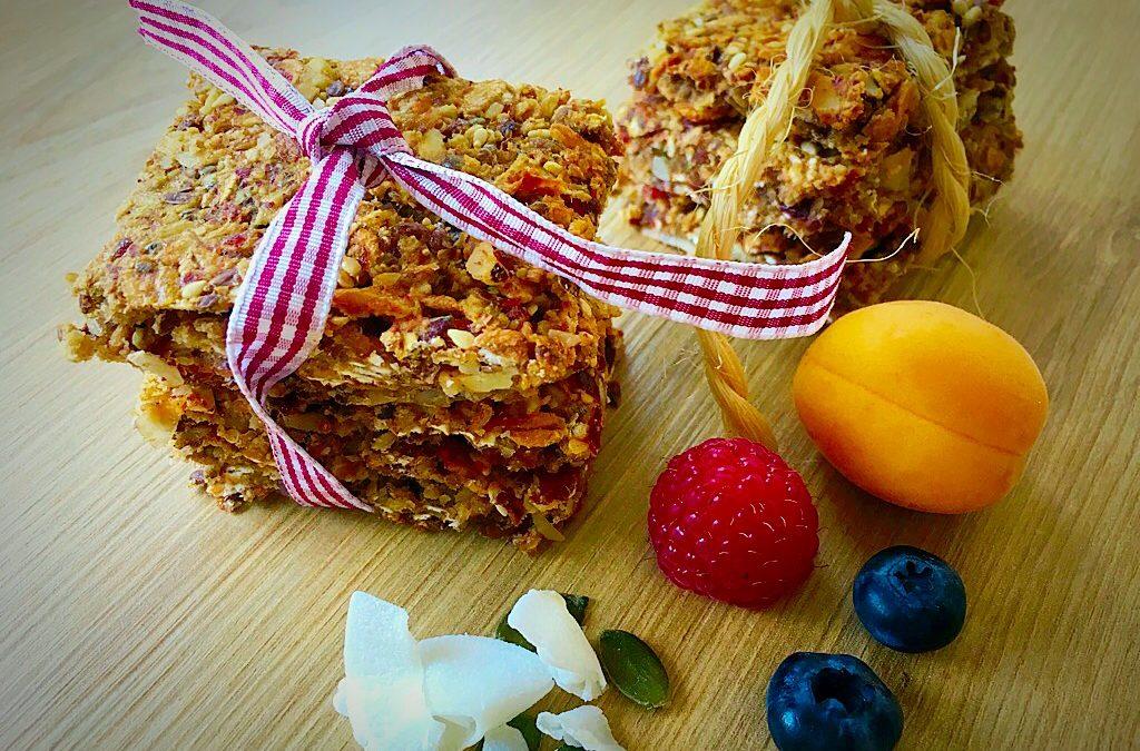 Gesundes Frühstück – Müsliriegel