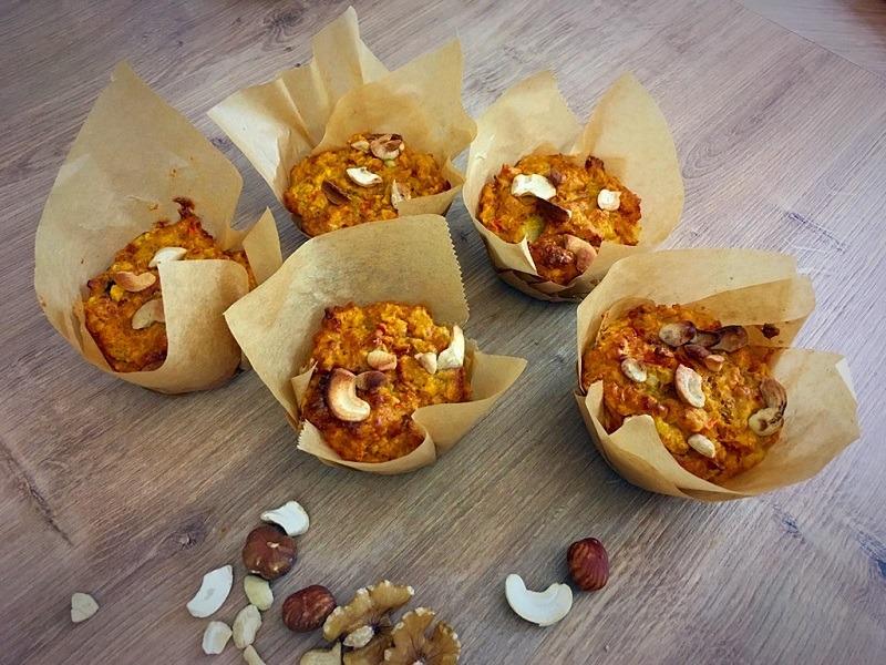 Gesundes Frühstück – Herzhafte Muffins