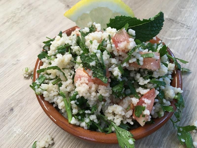 TABOULEH – veganer Petersiliensalat