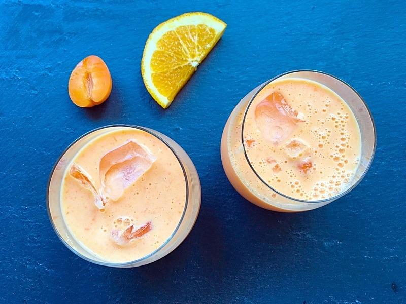 Gesundes Frühstück – Aprikosen*Orangen*Smoothie