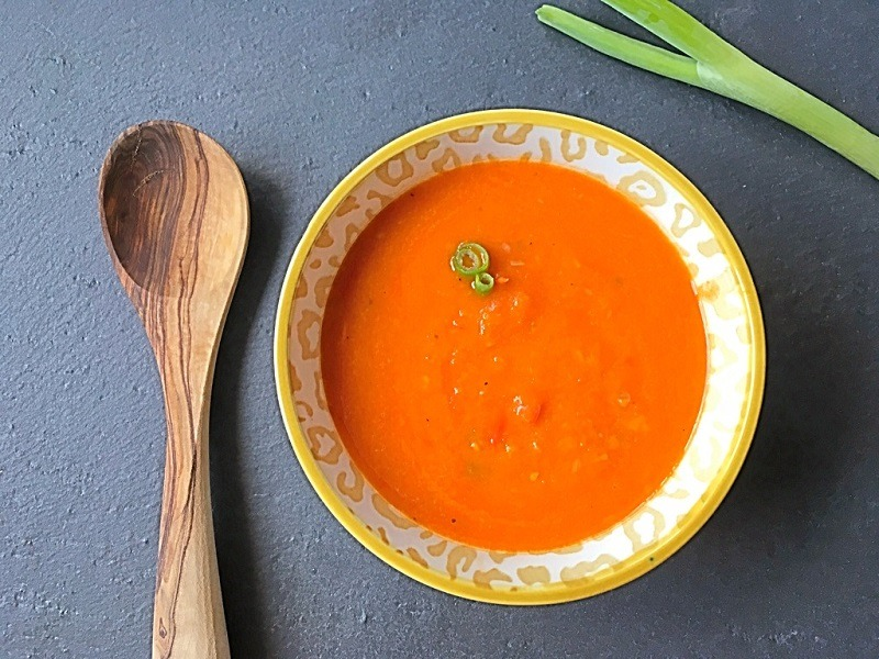 GESUNDE & LECKERE TOMATENSUPPE