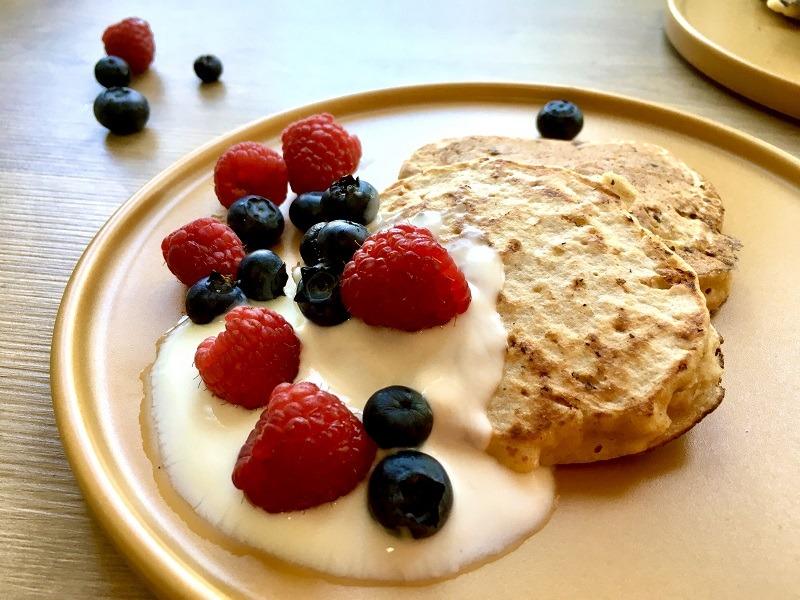 GESUNDES FRÜHSTÜCK – eiweißreiche Pfannkuchen